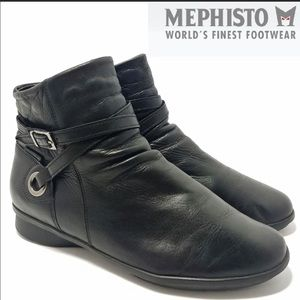 Mephisto black ankle boots Cool Air size 6